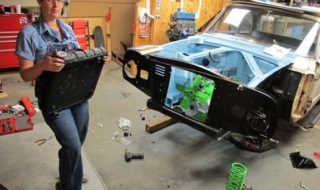 1960 Ford Falcon: 2 Days to Go – Getting Hooked Up