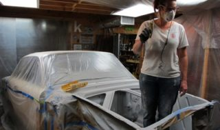 1960 Ford Falcon: 7 Days to Go – Beginning Paint