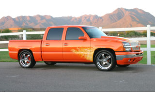 On Fire – John Melvin's True Flamed 2005 Chevrolet Silverado