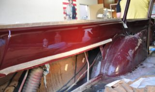 Get'n Buffed – My Falcon Wagon Gets a Shine-on