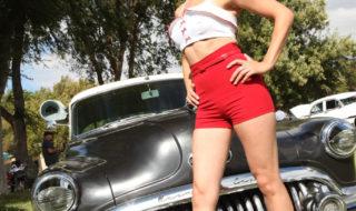 Huntington Beach Hot Rod Hottie – Pinup Dinah DeRosa