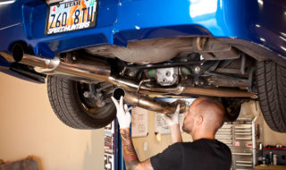 Subyrod Gets a New Exhaust