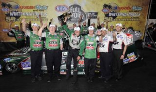 John Force Wins at 50th Winternational!
