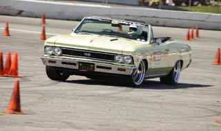 "Autocrossing ""Whimpy"" 1966 Chevelle SS396 Convertible at OUSCI"
