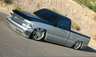 Dragging 24/7 – John Trevino's Bagged Chevrolet Silverado
