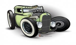 "Artistic Look at ""Voodoo Psychosis"" 1931 Ford"