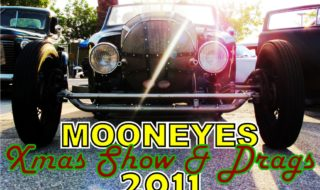 Mooneyes Christmas 2011 Car Show and Drags