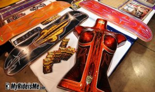 Pinstriping Masters at 2011 GNRS