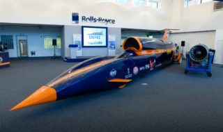 Bloodhound SSC Update &#8211; Lands Rolls Royce as Supporter