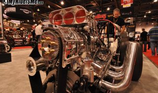 Drag Racers from SEMA Vegas: Small Chevy 427