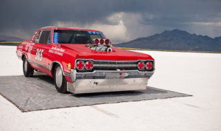 Hot Rod Ramblings: Salt Fever in the Snow