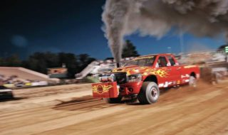 Truck Pull Competition Heats up with Edge Products