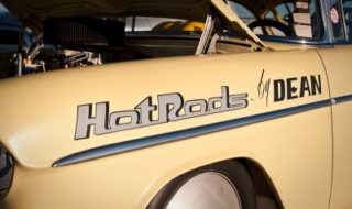 "Beautiful '55 Chevy ""Hot Rods by Dean"" at World Finals 2009"