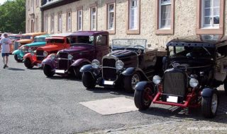 American Hot Rods and Customs in Germany