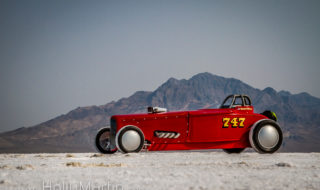 Steel Machines into Art – Holly Martin at Bonneville