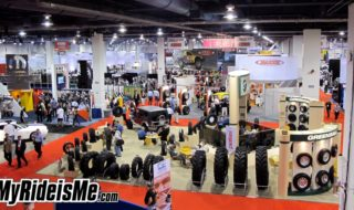How Big Are Yours? Custom Wheels at SEMA 2010