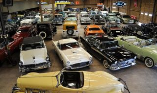 A Grandfather's Car Collection