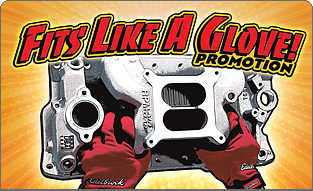 Free Mechanics Gloves from Edelbrock