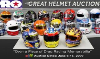 "Professional Racers Owners Organization's ""Great Helmet Auction"""