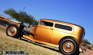Unforgettable Gold/Copper 1929 Ford Sedan