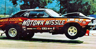 Motown Missile 70 Challenger One-of-a-kind Painting