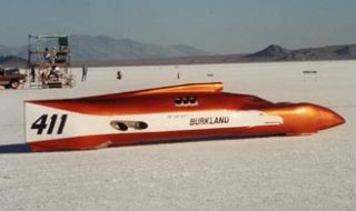 """Internet Barn Find #10″: Burkland's 400 MPH Streamliner"