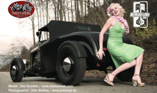Pinup Models Wanted for MyRideisMe Gallery