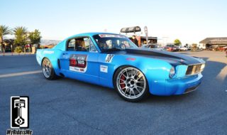 Budget Pro-Touring Mustang on the Track