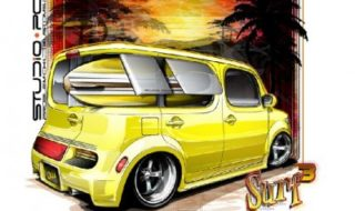 "Ed ""Big Daddy"" Roth Inspired Nissan Cube"