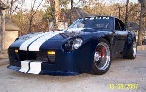 240Z Street Racer Oil Cooler Install