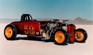 Volk Bros' 1929 Salt Flats Record Roadster