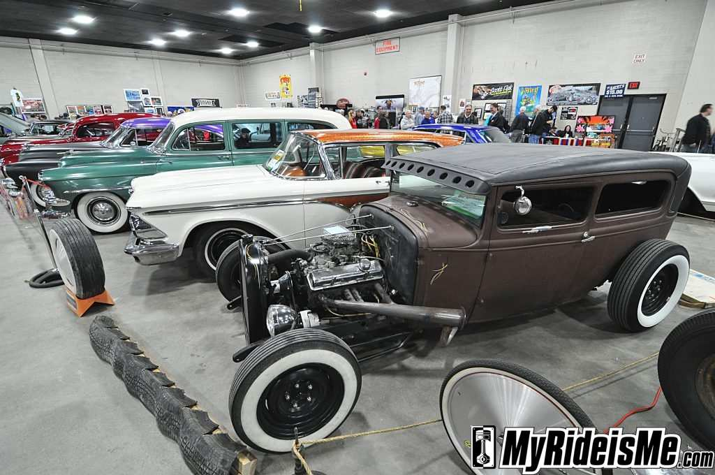 hot rods, custom cars, detroit autorama basement