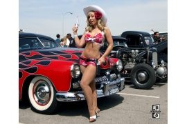 Ladies of Viva II Hot Rod Pinups from Viva Las Vegas 2010