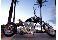 Swanee at the Pavilions P-II Custom Chopper