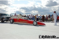 2009 Bonneville Salt Flats: Speed Week Streamliners Streamliners at Bonneville Salt Flats