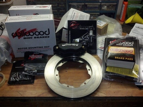 Ford 4-Lug Disc Brake Kit from Wilwood