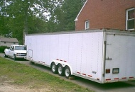 40 foot trailer 2000 chev crew cab