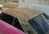 After I removed the vinyl roof.
