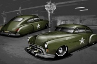 "1950 Oldsmobile custom design - ""Patton"""