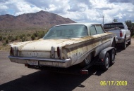 1960 Edsel 2 Dr. to be restored