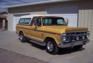 1974 Ford F250 original with rebuilt engine, trans., & running gear