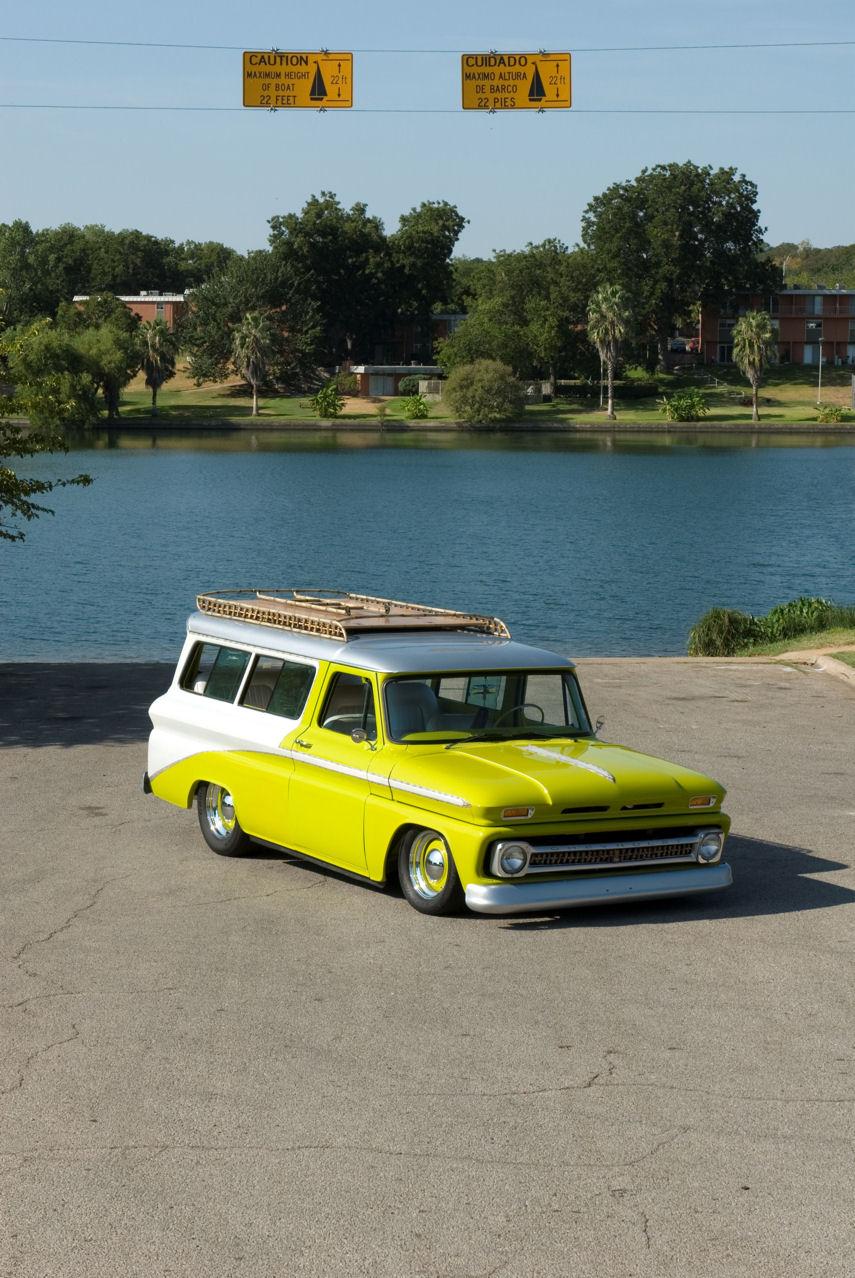 1965 Chevy Suburban,  Custom suburban
