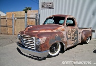 Mexican Hillbilly' Studebaker pickup wearing its patina with a whole lot of pride