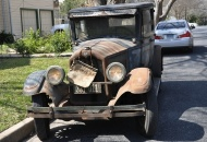 1927 Buick Sedan 4 Door, It spent the first 83 years of its life in the San Fernando Valley, in California, the last 61 of those tucked away in a garage #1