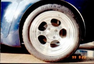 The original wheel as delivered from Billet Specialties.