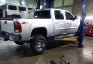Derek @ Tim's GMC took good care of me.  The whole team @ Tims did a great job. 2nd truck they've lifted for our company.