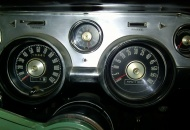 original deluxe instrument cluster, with factory tach