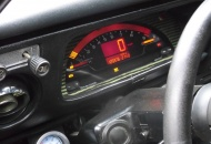 S2000 gauge cluster tucked into the 510 panel