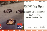 Pocono IZOD Indy Car Race