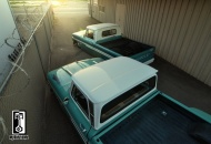A pair of custom C10's - one's a dually, the other pro-street